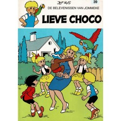 Jommeke - 039 Lieve Choco - herdruk 2001