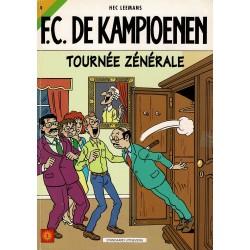 F.C. De Kampioenen - 009 Tournée zénérale - eerste druk 1999