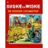 Suske en Wiske - 162 De gouden locomotief - herdruk 1996