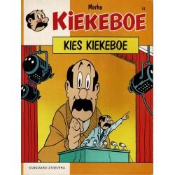 Kiekeboe - 013 Kies Kiekeboe - herdruk 1990