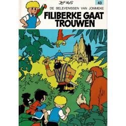 Jommeke - 043 Filiberke gaat trouwen - herdruk 1993
