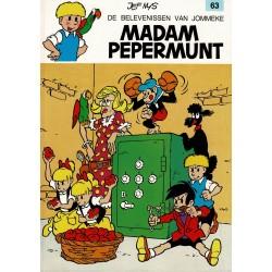 Jommeke - 063 Madam Pepermunt - herdruk 1993