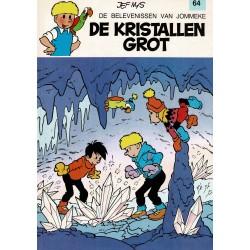 Jommeke - 064 De kristallen grot - herdruk 1991