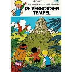 Jommeke - 070 De verborgen tempel - herdruk 1993