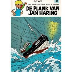 Jommeke - 084 De plank van Jan Haring - herdruk 1992