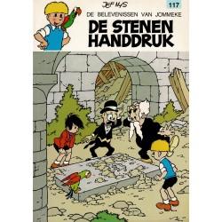 Jommeke - 117 De stenen handdruk - herdruk 1993