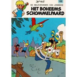 Jommeke - 122 Het Boheems schommelpaard - herdruk 1991
