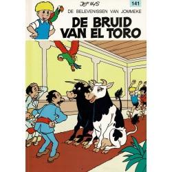 Jommeke - 141 De bruid van El Toro - herdruk 1993