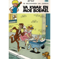Jommeke - 143 Va Kwak en Moe Boemel - herdruk 1993