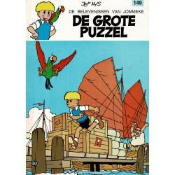 Jommeke - 149 De grote puzzel - herdruk 1993