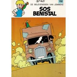 Jommeke - 152 S.O.S. Benistal - herdruk 1995