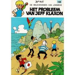 Jommeke - 158 Het probleem van Jeff Klaxon - herdruk 1995