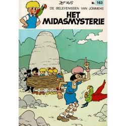 Jommeke - 163 Het Midasmysterie - eerste druk 1991