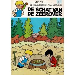 Jommeke - 037 De schat van de zeerover - herdruk 1997