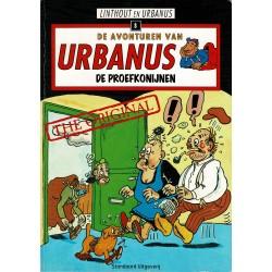 Urbanus - 008 De proefkonijnen - herdruk 2005