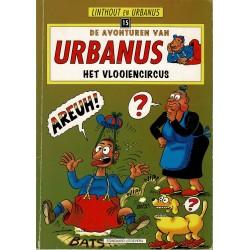 Urbanus - 015 Het vlooiencircus - herdruk 1998