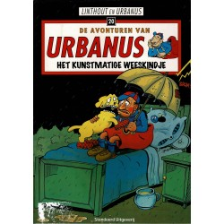 Urbanus - 020 Het kunstmatige weeskindje - herdruk 2010