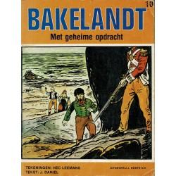 Bakelandt - 10 Met geheime opdracht