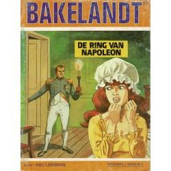 Bakelandt - 025 De ring van Napoleon - eerste druk 1984