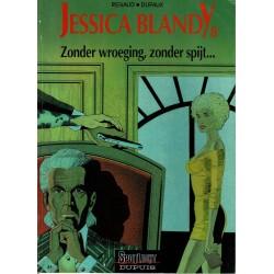 Jessica Blandy - 008 Zonder wroeging, zonder spijt… - eerste druk 1992