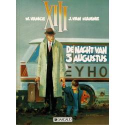 XIII - 007 De nacht van 3 augustus - herdruk 1995