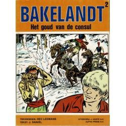 Bakelandt - 002 Het goud van de consul - eerste druk 1978