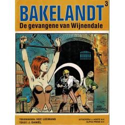 Bakelandt - 003 De gevangene van Wijnendale - eerste druk 1979