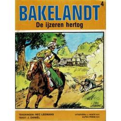Bakelandt - 004 De ijzeren hertog - herdruk 1979