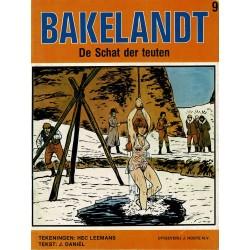 Bakelandt - 009 De schat der Teuten - eerste druk 1980