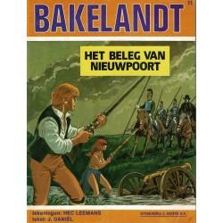 Bakelandt - 011 Het beleg van Nieuwpoort - eerste druk 1981