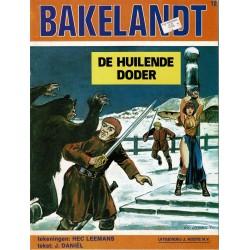 Bakelandt - 012 De huilende doder - eerste druk 1981