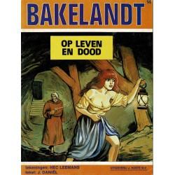 Bakelandt - 014 Op leven en dood - eerste druk 1981