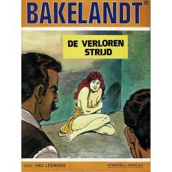 Bakelandt - 020 De verloren strijd - eerste druk 1983
