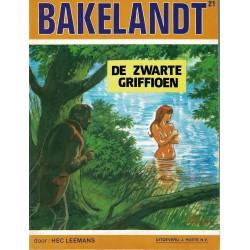 Bakelandt - 021 De zwarte griffioen - eerste druk 1983