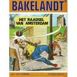 Bakelandt - 022 Het raadsel van Amsterdam - eerste druk 1983