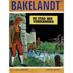 Bakelandt - 024 De stad der verdoemden - eerste druk 1984