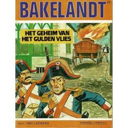 Bakelandt - 026 Het geheim van het gulden vlies - eerste druk 1984