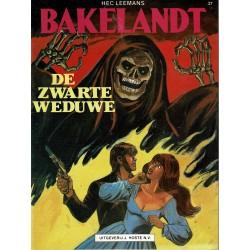 Bakelandt - 37 De zwarte weduwe - eerste druk