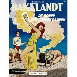 Bakelandt - 042 De doder van Covent Garden - eerste druk 1989