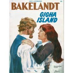 Bakelandt - 045 Gigha Island - eerste druk 1989