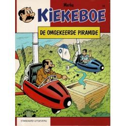 Kiekeboe - 023 De omgekeerde piramide - herdruk 1995