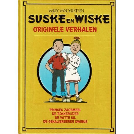 Suske en Wiske Originele Verhalen - Lekturama hardcover A03 - eerste druk 1999