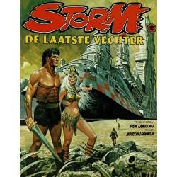 Storm - 002 De laatste vechter - herdruk 1985