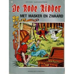 De Rode Ridder - 049 Met masker en zwaard - herdruk 1985