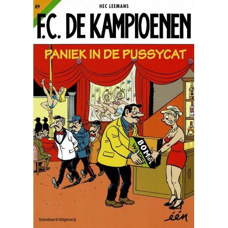 F.C. De Kampioenen - 089 Paniek in de Pussycat - eerste druk 2016