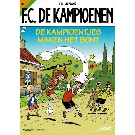 F.C. De Kampioenen - 090 De kampioentjes maken het bont - eerste druk 2016