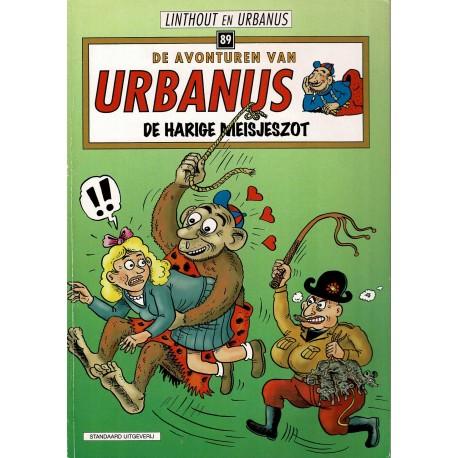 Urbanus - 089 De harige meisjeszot