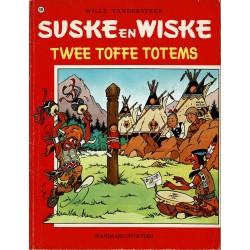 Suske en Wiske - 108 Twee toffe totems - herdruk 1977