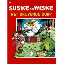 Suske en Wiske - 173 Het drijvende dorp - herdruk 1998
