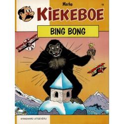 Kiekeboe - 018 Bing Bong - herdruk 1993